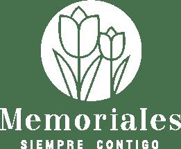 Logo memoriales blanco